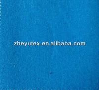blue yarn dyed wool fabric melton