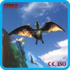 Jurassic theme park dinosaur decoration animatronic bird