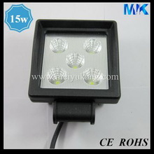 CREE 4'' 15W LED Work Light Round IP68 Waterproof