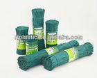 green color grafting tape / plant binding ties / plastic twist ties for vineyards