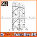 Construcción de acero de torre andamios venta