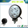 super bright led work light 12w offroad led work light for suv atv 4x4
