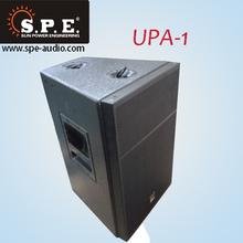 Powerful portbale loudspeaker meyer sound audio active speaker 12inch 400W UPA-1
