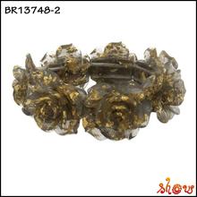 Top fashion model design natural resin stone bracelet london