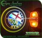 CREE chip door light projector ghost shadow light,customizing car logo laser door light,led car logo door light
