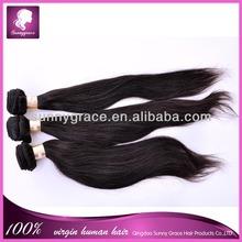 Alibaba aliexprss Best selling Chinese virgin straight human hair extension machinery wave 100% virgin brazilian human hair