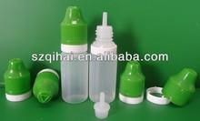 long thin tip 10ml plastic e liquid dropper bottle wholesale flacon JB-252