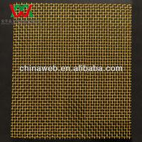 16mesh plain weave brass woven wire mesh&wire cloth