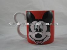 YF18192 3d ceramic mug animal mug