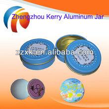 Silk screen printing for aluminum jars Aluminum jar wholesale
