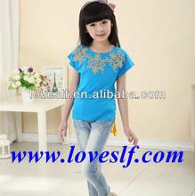 Loveslf & OEM 2014 fashion latest baby girl cotton shirts