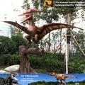 Atractivo y de alta calidad móvil dinosaurio, de madera 3d puzzles/rompecabezas dinosaurio, dino volando