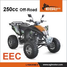 Mad Max Quad 250cc EEC Approval Atv