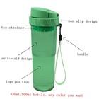 430ml portable plastic water bottle BPA free
