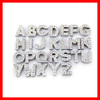 wholesale crystal A to Z letter 8mm slide charms