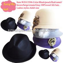 new design woman cloche hat