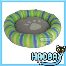 Elegant Funny Colorful Stripes Pet Products Dog Bed