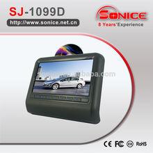 10.1 inch easy install headrest DVDwith USB/SD
