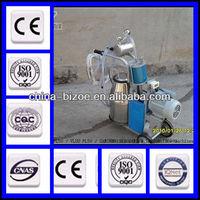 2014 protable type/stainless steel/piston pump single cow milking machine