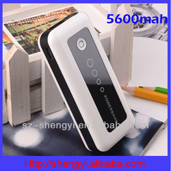 2014 factory price manual for mobile phone power bank 5000