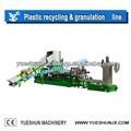 polietileno de baja densidad de plástico de la granulación de la máquina de reciclaje