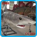 parque de atracciones de alta de simulación de tamaño de la vida de tiburón