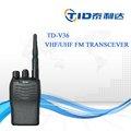 แบบใช้มือถือvhfuhftd-v36คงทน5วัตต์แฮมวิทยุวิทยุเครื่องส่งรับวิทยุfm