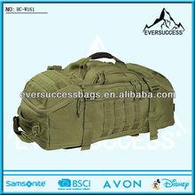 Hot Fashional Green Army Canvas Duffel Bag