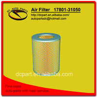 air filter 17801-31050 for TOYOTA LAND CRUISER, HILUX SURF