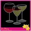 2014 new design high quality glass rhinestone motifs