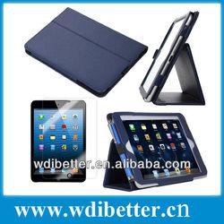 high quality PU fashion design universal for apple Ipad 2 3 4 leather case