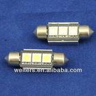 Festoon Bulb 3LED canbus 36MM/39MM reading light,map light led car lights interior