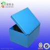blue powder coating steel enclosure