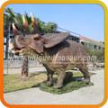 équipements de jeux extérieurs résine statue de dinosaure