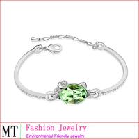 Fashion Jewellery for Young People Cute Cat Bracelet Gaharu Bracelet