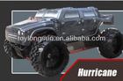2.4G 1/5scale Gas Powered Monster Truck rc car