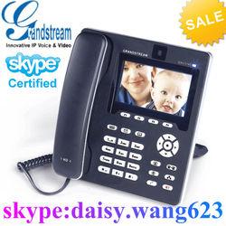wifi sip desk phone GXV3140 IP multimedia video phone wifi,skype