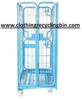Roller cages with brake for books transporting - Xtra Strong