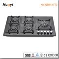 China manufaturer de vidro preto cooktop a gás ny-qb5017t2/industrial slow cooker/interior fogões portáteis