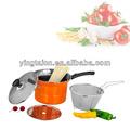 Ss pasta pot / ss pasta cooking pot set
