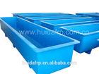 China Fiberglass customised aquaculture tank manufacturer