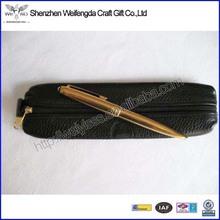 Cross Leather Pen/Pencil Pouch Pen Bag In Sleek design