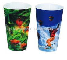 2014 Fairy tale 32oz 3D lenticular plastic cups