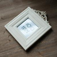 zakka grocery european-style garden square creative home crafts white funny love photo frame