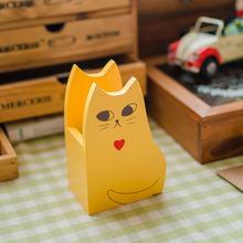 Large grocery zakka creative thinking cat pen holder creative home crafts ornaments D0314 Desktop