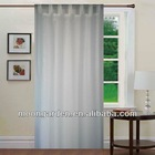 New fashion design of tap top curtain fringe voile window curtain