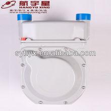 Temperature Compensation IC Card Prepaid Aluminium Case Digital Diaphragm Gas Meter G2.5