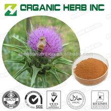 Milk Thistle Extract 80% silymarin/ milk thistle extract powder