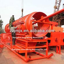 efficient gold mine trommel machine