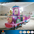 Abeja encantadora niños modelo de atracciones paseo mini-pista tren